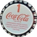 10 Vintage COCA COLA Coke Classic Soda Bottle Caps no 1