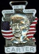 President Carter Enameled Fob