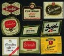 Vintage Old Beer Labels