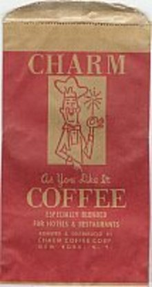 Charm Coffee Bags - Happy Chef