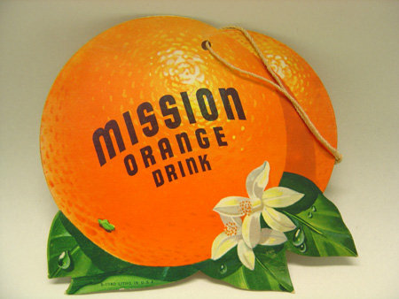 Mission Orange Soda Sign