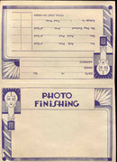 VINTAGE PHOTO FINISHING AMERICAN ENVELOPE