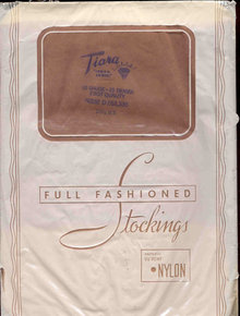 VINTAGE TIARA NYLON STOCKINGS IN ORIGINAL PACK