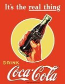 COCA COLA SODA TIN SIGN REPRODUCTION NEW