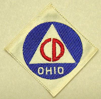 Ohio Civil Defense Patches