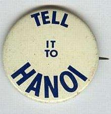Vietnam Hanoi Pinback Pin