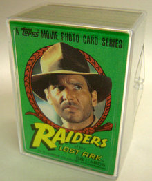Raiders of the Lost Ark Trading Card Movie Set