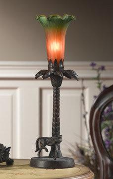 Tulip Amber Lamp