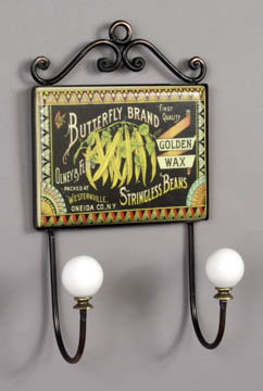 BUTTERFLY BRAND KITCHEN WALL HOOK PLAQUE