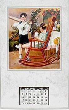 1937 Vintage Calendar