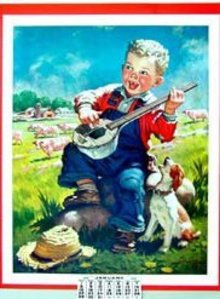 1939 Banjo Boy Calendar