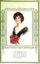 1929 Vintage Calendar - Beauties