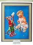 Boy Monkey Calendar 1939