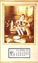 1929 Vintage Calendar - Buddies