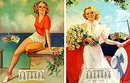 Lucky Strike Cigarette Calendars 1939