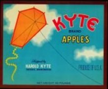 Kyte Apples Crate Labels