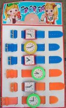 Toy Watch Display Card