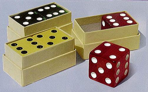 Bakelite Gaming Dice in Box