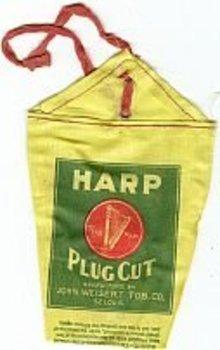 Harp Plug Tobacco Bags