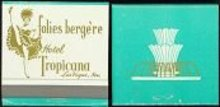 VINTAGE TROPICANA CASINO MATCHBOOK