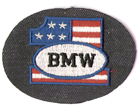 3 VINTAGE BMW MOTORCYCLE PATCHES 1960S