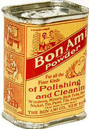 VINTAGE 1940S BON AMI POLISHING TIN