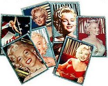 100 VINTAGE MARILYN MONROE TRADING CARDS