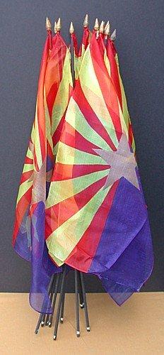 Arizona Silk State Flags 1950s