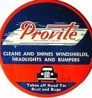 VINTAGE PROVITE AUTOMOBILE polish TIN 1940S
