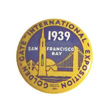 San Fransico Golden Gate Bridge Souvenir Pin