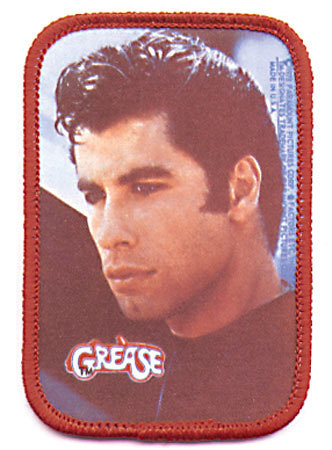 VINTAGE JOHN TRAVOLTA GREASE PATCH / DANNY ZUKO