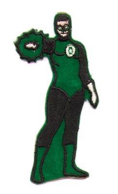 Superhero Patches 1960s