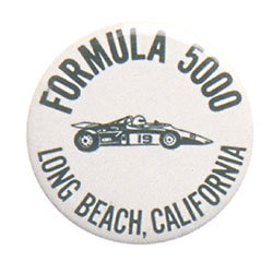 Long Beach Pennant and Pin