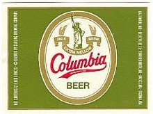 Colubmia Beer Labels - Statue of Liberty