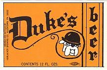 Duke's Beer Labels