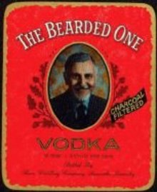 Bearded One Vodka Labels