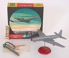 VINTAGE DE HAVILLAND DH-106 COMET AIRPLANE TOY