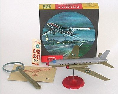 VINTAGE TUPOLEW TU 104 AIRPLANE JET TOY