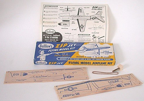 Zip Jet Flying Model Airplane Toy