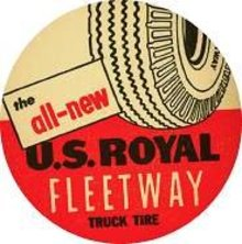 Royal Fleetway Tire Coaster 1940s