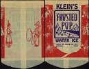 Klein's Pop Water Ice Bag