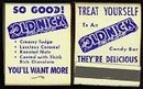 VINTAGE 1949 OLD NICK MATCHBOOK CANDY