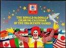 Ronald McDonald Olympics Calendar