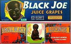 Black Americana Crate Labels - Negro Lot