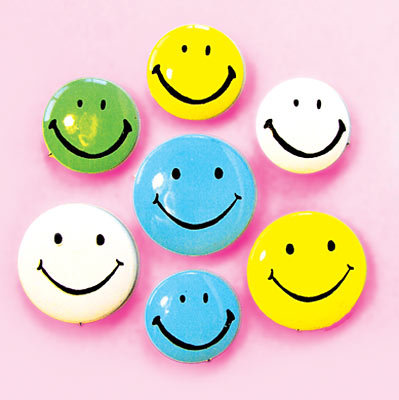 Smiley Smile Pinbacks