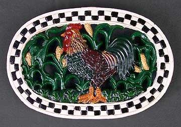 Rooster Kitchen Trivet