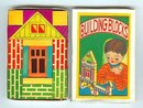 Building Blocks Toys - vintage