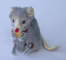 Fur Toys Mouse Toy - Original