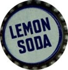 Lemon Soda Bottle Caps