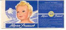 Alpen Toilet Paper Label
